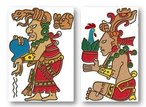 imagenes mayas con sus nombres principales dioses mayas joya life