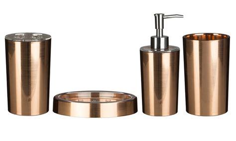 Bathroom Accessories Groupon Gold Bathroom Set Groupon Goods