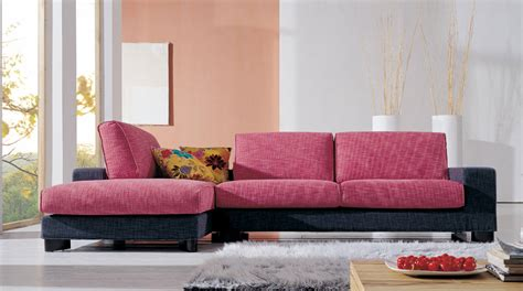 red fabric corner sofa red fabric corner sofa pictures 02 small room decorating