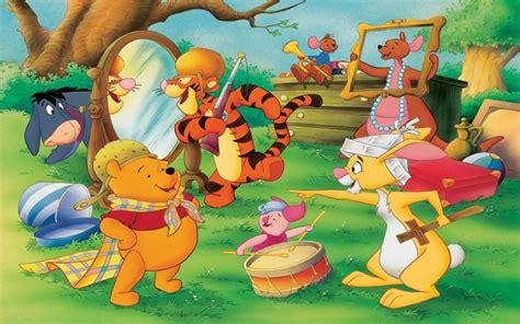 winnie  pooh characters rabbit eeyore tigger piglet