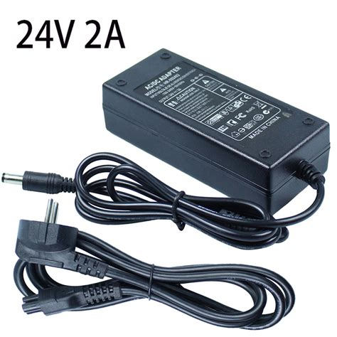 Adaptor Switching 48 V 2a Kwalitas Bagus aliexpress buy dc 24v 2a led power switching supply adapter ac100 240v to dc24v 48w