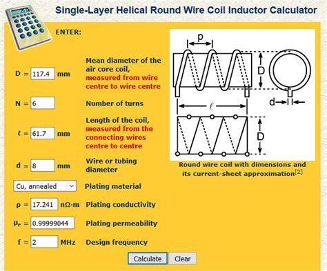 wound inductor calculator rf inductance calculator hamwaves 28 images inductance calculator loop antenna 28 images rf