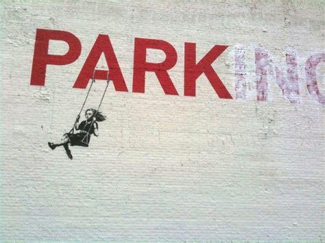 Banksy Parking Swing banksy park los angeles unurth