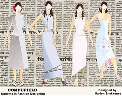design clothes in computer diploma certificate in computer generated fashion
