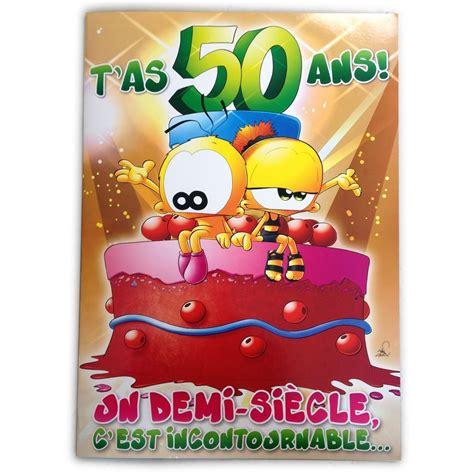 carte anniversaire 50 ans femme d anniversaire idee