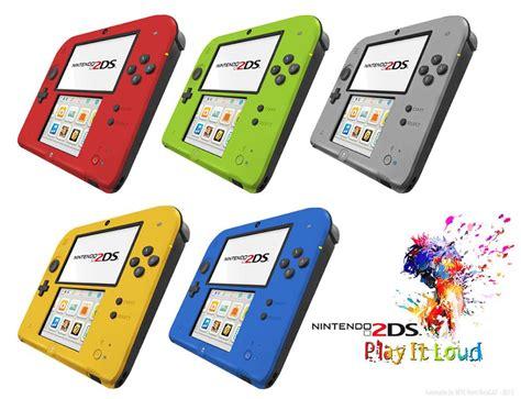 nintendo 2ds colors 2ds 5 couleurs sur le forum nintendo 3ds 01 09