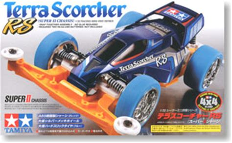 Tamiya 18064 Terra Scorcher Rs Set terra scorcher rs ii chassis mini 4wd