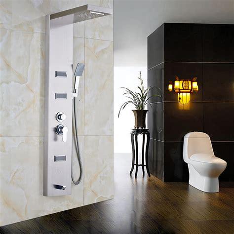 shower mandi minimalis handshower shower board 16 walk in bathtub shower combo soaking tub