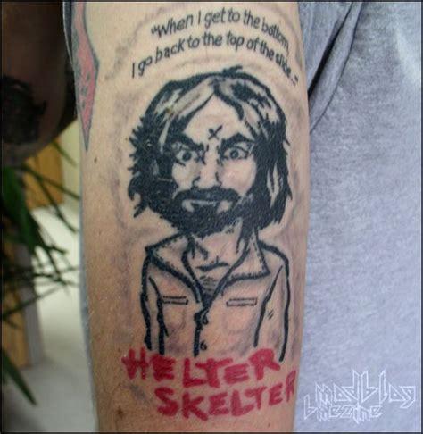 charles manson tattoo charles charles bme