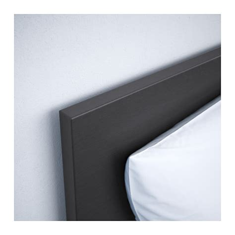 Ikea Bed Frame Black Malm Bed Frame High Black Brown Leirsund Standard Single Ikea