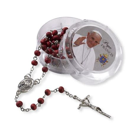 rosary blessed by pope francis pope francis scented bead rosary with the prayer to