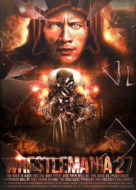 Minifig World Entertainment The Rock Undertaker next year wrestlemania the rock undertaker