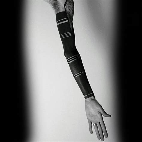 solid black tattoo sleeve 60 blackout sleeve designs for solid black