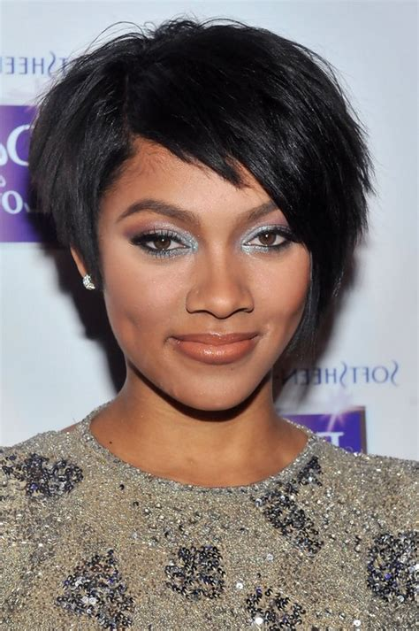 black hairstyles razor cuts african american short black razor cut from bria murphy