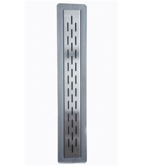 bathroom channel drain buy snk bathroom shower channel drain 600 mm length online at low price in india