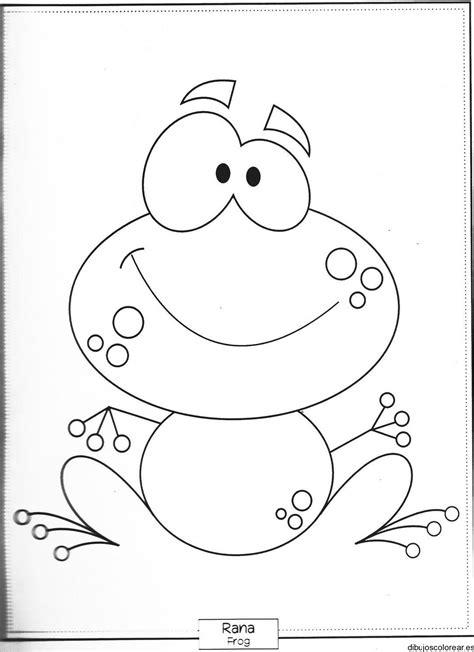 imagenes de un sapo para dibujar faciles dibujo de una ranita