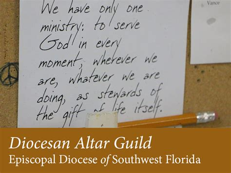 an anglican altar guild manual anglican diocese of the south about diocesan altar guild diocese of southwest florida