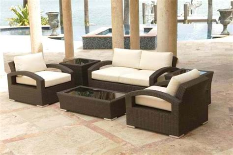 Lago 6 Piece Loveseat Set By Source Outdoor Contemporary Modern Patio Furniture Miami