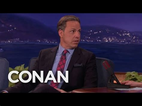 jake tapper gives jimmy kimmel a jimmy kimmel doll inthefame jake tapper on donald politics conan on