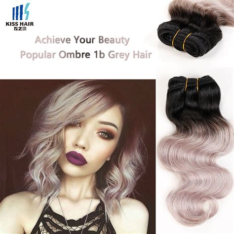 can ypu safely bodywave grey hair malaysian body wave 2 bundles ombre hair extensions t 1b