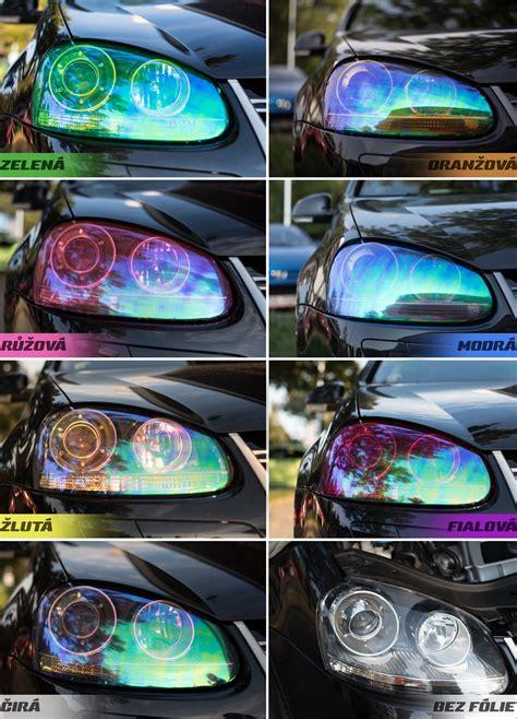 Folie Na Auto Na Sklo by F 243 Lie Na Světla Chameleon Autodoplňky Cz Tuning Racing