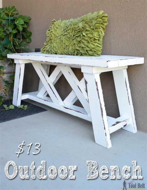 outdoor bench how to build an outdoor bench with free plans