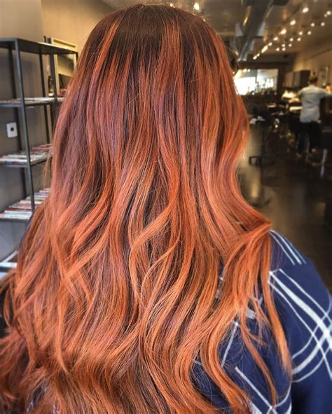 burnt orange hair color burnt orange hair color hairstyles ideas 25 best ideas