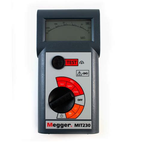 megger test megger mit230 insulation and continuity tester