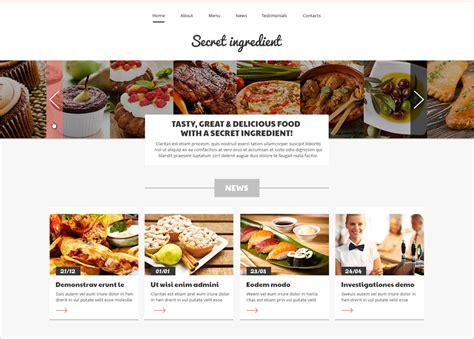 joomla template organic food 30 best restaurant joomla templates free download