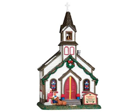 lemax village collection buckleberry church 55003