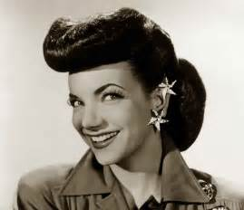 hairstyles for in early 40s 1940s hairstyles memorable pompadours glamourdaze