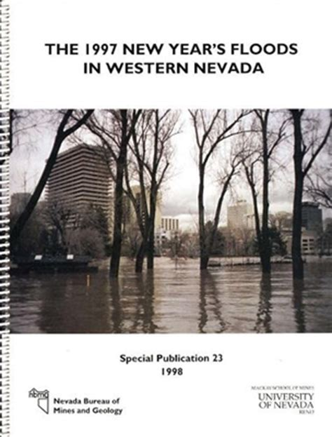 1997 new year the 1997 new year s floods in western nevada book and plate
