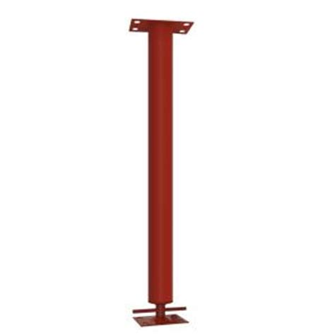 decorative columns home depot tiger brand 7 ft 3 in adjustable steel building support column 3 in o d 3a 7377 the home depot