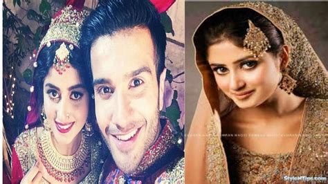 New Wedding Pic by Sajal Ali Wedding Pics Pictures