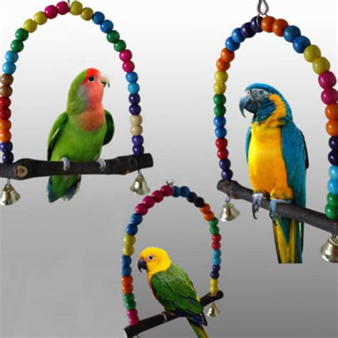 swinging toys colourful bird swing toys free shipping worldwide