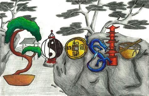 doodle 4 china drawing drawings