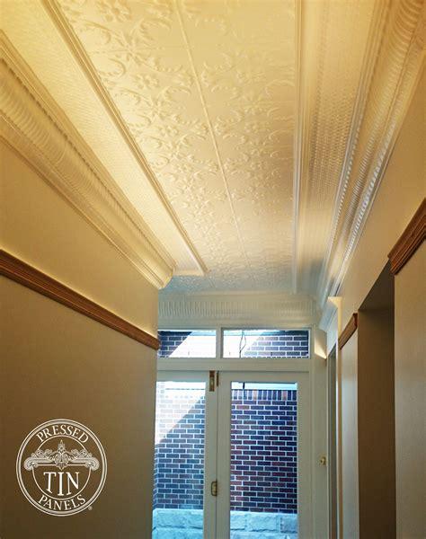 Pressed Metal Ceilings by Melbourne Hallway Ceiling
