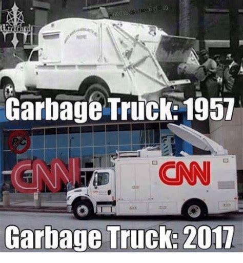 Truck Memes - garbage truck 1957 gn cnn garbage truck 2017 cnn com