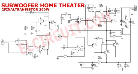 bose subwoofer wiring diagram on lifier bose 901 wiring