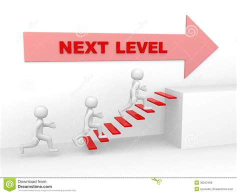 planning the play the next level books 3d climbs the ladder of next level 3d render royalty