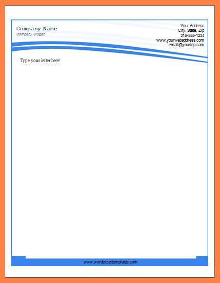 8 Letterhead Template Word 2007 Company Letterhead Microsoft Templates Letterhead