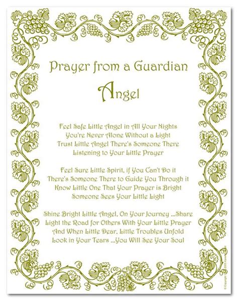 Guardian Prayer 1000 Images About On