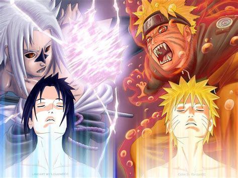 imagenes asombrosas de naruto naruto vs sasuke wallpapers wallpaper cave