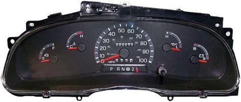 motor repair manual 1984 ford e250 instrument cluster 2002 2003 ford e150 e250 e350 econoline van instrument cluster repair gas only