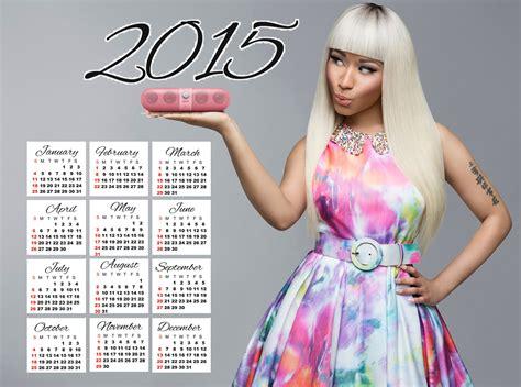 Nicki Minaj Calendar Wallpapers Free 2015 Calendars Travel