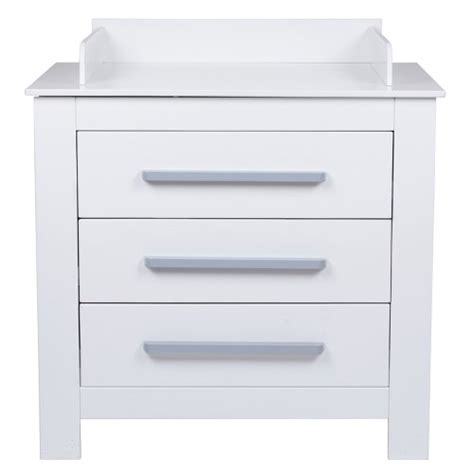 White Baby Changing Unit With Drawers by Infantastic Baby Changing Unit White Nursery Furniture