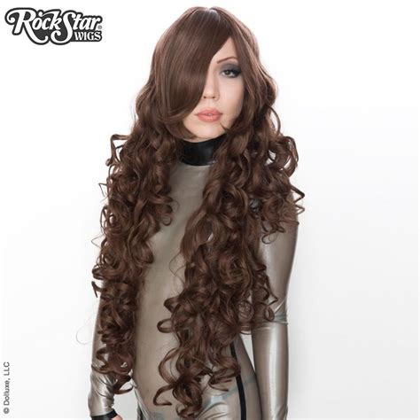 Pre Order Wig Light Brown Curly W58317 wigs usa curly 90cm 36 quot brown 00322