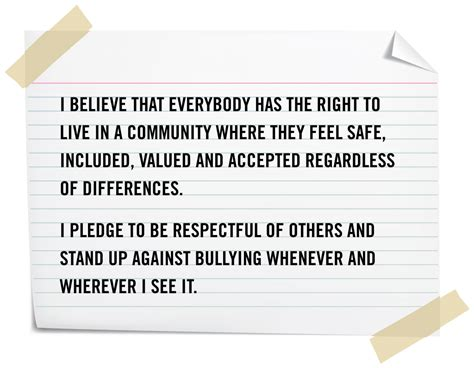 london the pledge to end bullying
