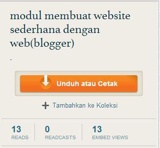 modul membuat web dengan html cara mudah download file scribd