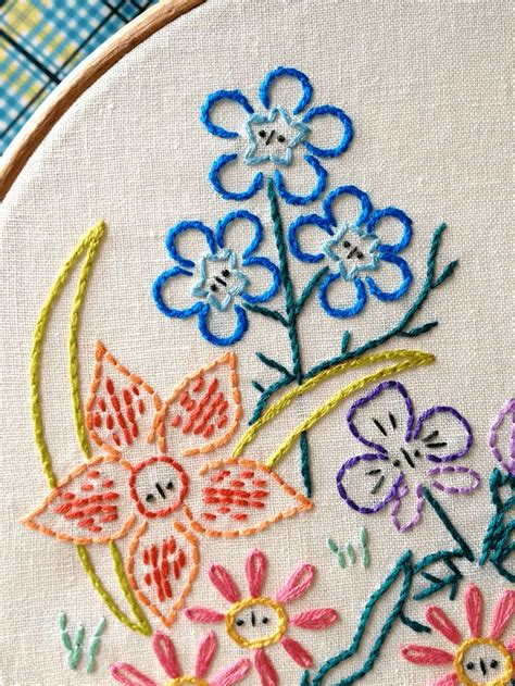 Handmade Embroidery Design - easy embroidery patterns free makaroka